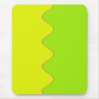 Yellow Ripple Mouse Mat Mouse Pad