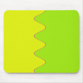 Yellow Ripple Mouse Mat Mouse Pads