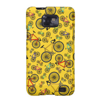 Yellow road bikes galaxy s2 cover