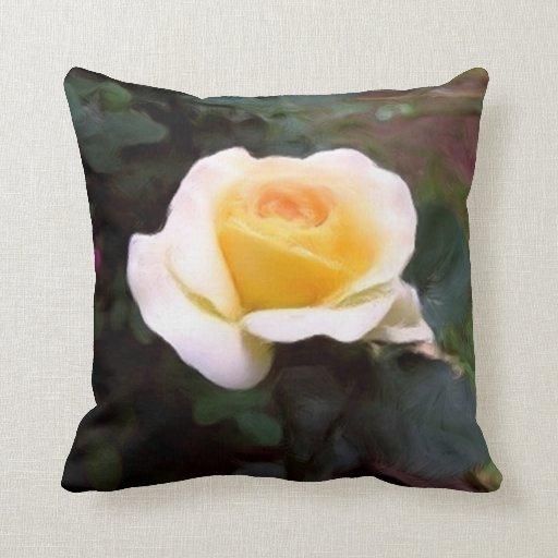 Yellow Rose American MoJo Pillows
