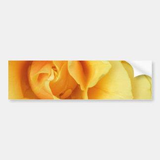 Yellow Rose Blossom Bumper Sticker