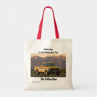 Yellow Rose Bookbag Tote Bag
