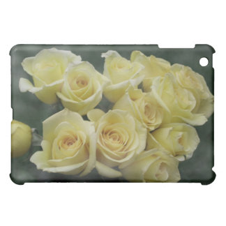 Yellow Rose bouquet spotted background iPad Mini Case