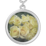 Yellow Rose bouquet spotted background Jewelry