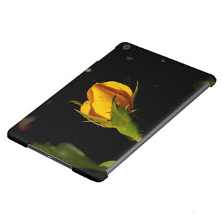 Yellow Rose Bud iPad Air Cases