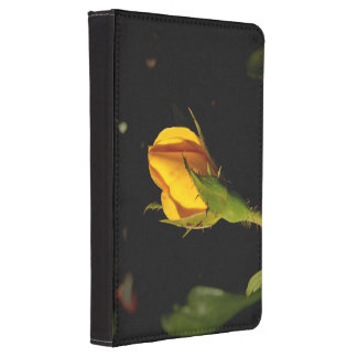 Yellow Rose Bud Kindle 4 Cover