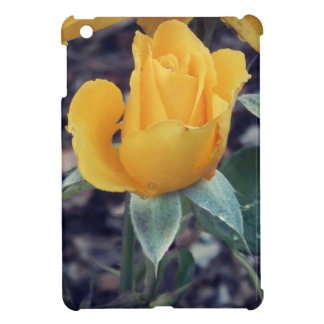 Yellow Rose Bud Cover For The iPad Mini