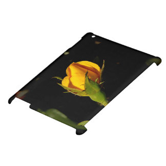 Yellow Rose Bud iPad Cover