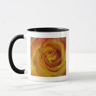 yellow rose bud mug