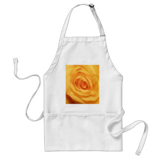 Yellow Rose Bud Roses Flower Floral Photo Adult Apron