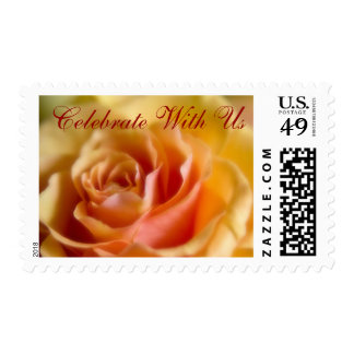Yellow Rose • Celebrate With Us Stamp