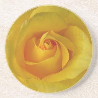 Yellow Rose Coasters Sunny Rose Gifts Keepsake Dec
