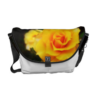Yellow Rose Courier Bag