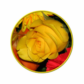 Yellow Rose Cut Outs