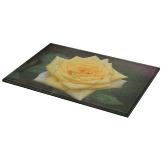 Yellow Rose Cutting Board