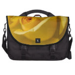 Yellow Rose Flower Commuter Bags