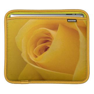Yellow Rose Flower iPad Sleeve