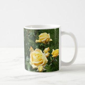 Yellow Rose Flowers Coffee Mug
