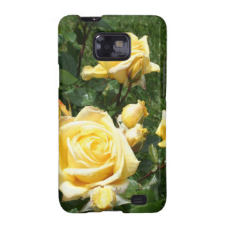 Yellow Rose Flowers Galaxy S2 Cases
