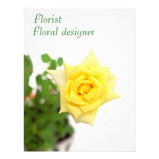 Yellow rose flyer
