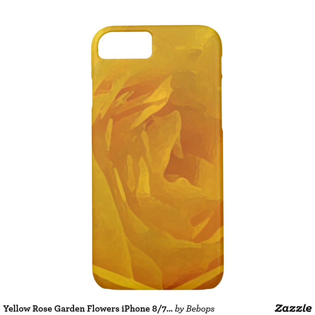 Yellow Rose Garden Flowers iPhone 8/7 Case