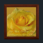 """Yellow Rose Gift Box Personalized Flower Boxes<br><div class=""""desc"""">Yellow Rose Gift Box Customizable Rose Boxes Yellow Rose Jewelry Boxes Personalized Baby Shower Boxes Customizable Wedding Rose Keepsake Box Custom Memorial Boxes Mementos, Rose Cards Your Photo Here Gift-box In Loving Memory Custom Boxes Yellow Rose Invitations Greeting Cards. Personalized Yellow Flower Gift Boxes for Anniversary, Birthday, New Baby Shower...</div>"""