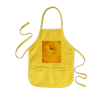 Yellow Rose Girls Apron