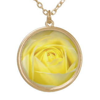 Yellow Rose Gold Plated Necklace