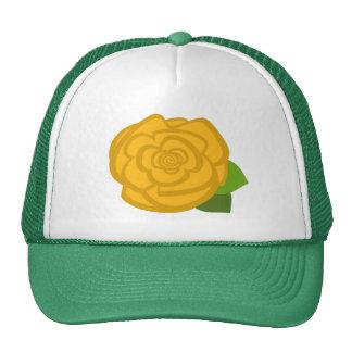 Yellow Rose Hat