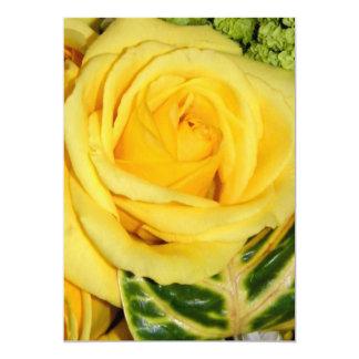 Yellow Rose_Invitation Card
