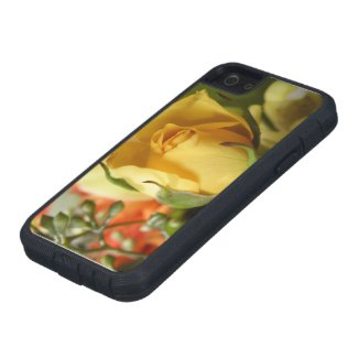 Yellow Rose iPhone 5 Covers