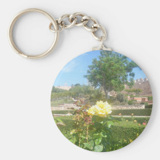 Yellow Rose Keychains