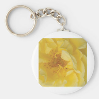 Yellow rose key chains