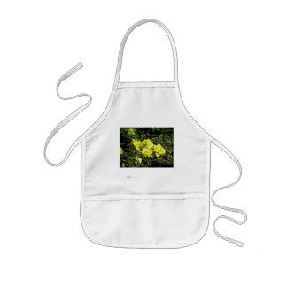 Yellow rose kids' apron