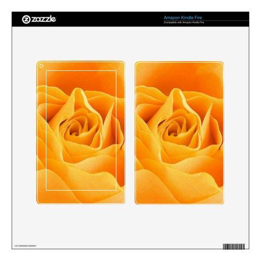 Yellow Rose Kindle Fire Skin