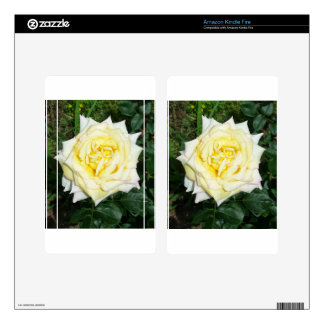 Yellow Rose Kindle Fire Skins
