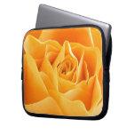 Yellow Rose Laptop Computer Sleeve