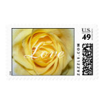 Yellow Rose Love Stamp