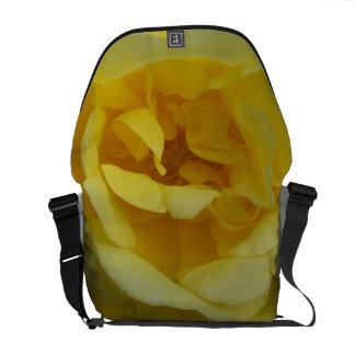 Yellow Rose Medium Messenger Bag