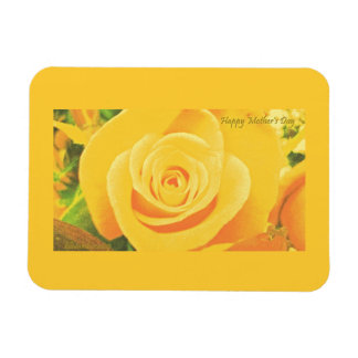 Yellow Rose Mother's Day Premium Flexi Magnet