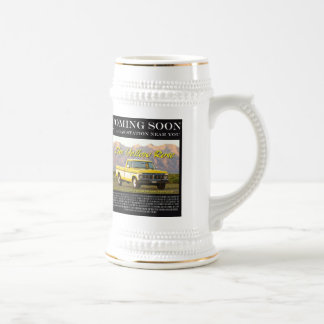 Yellow Rose Movie Poster Beer Stein