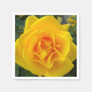 Yellow Rose Napkin