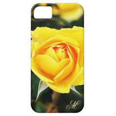 Yellow Rose Nature Case for iPhone 5 iPhone 5 Case