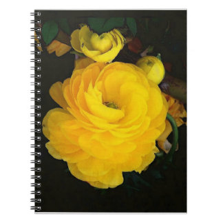 Yellow Rose Notebook
