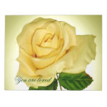 Yellow rose_ notepads
