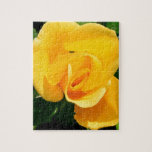 Yellow Rose of Friendship Jigsaw Puzzle