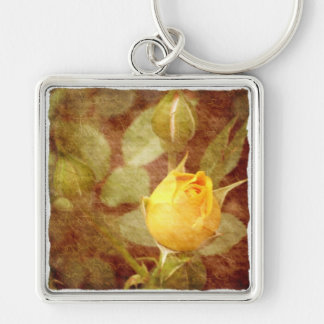 'Yellow Rose of Love' Keychain