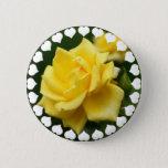 Yellow Rose of Texas Button