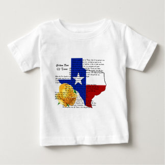 Yellow Rose of Texas Civil War Song Baby T-Shirt