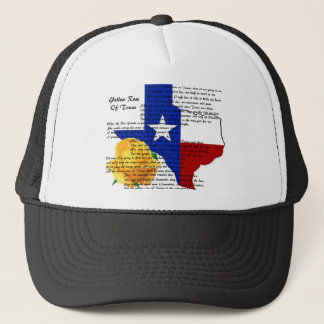 Yellow Rose of Texas Civil War Song Trucker Hat